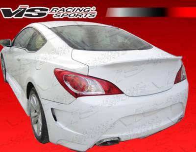 VIS Racing - Hyundai Genesis VIS Racing AMS GT Rear Bumper - 10HYGEN2DAMSGT-002
