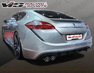 VIS Racing - Porsche Panamera VIS Racing Concept-D Rear Bumper - 10PS9704DCCD-002