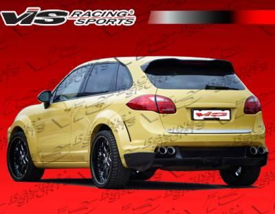 VIS Racing. - Porsche Cayenne VIS Racing Matrix Rear Bumper - 11PSCAY4DMTR-002