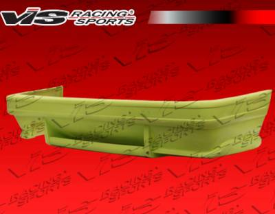 VIS Racing - BMW 3 Series VIS Racing Euro Tech Rear Bumper - 84BME302DET-002