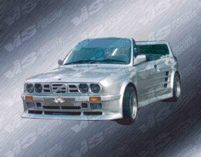 VIS Racing - BMW 3 Series VIS Racing GT Widebody Rear Bumper - 84BME302DGTWB-002