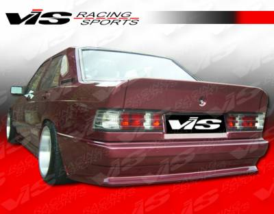 VIS Racing - Mercedes-Benz C Class VIS Racing EVO Widebody Rear Bumper - 84MEW2014DEVOWB-002