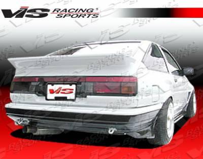 VIS Racing - Toyota Corolla VIS Racing JB Rear Bumper - 84TYCOR2DJB-002