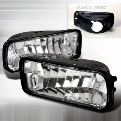 Custom Disco - Chevrolet Camaro Custom Disco Clear Bumper Lights - LB-CMR85-DP