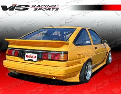 VIS Racing - Toyota Corolla VIS Racing JB Rear Bumper - 84TYCORHBJB-002