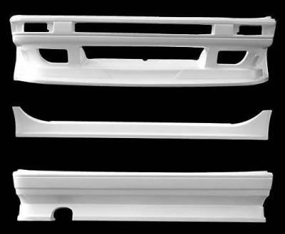 VIS Racing - Toyota Corolla VIS Racing Monster Rear Bumper - 84TYCORHBMON-002