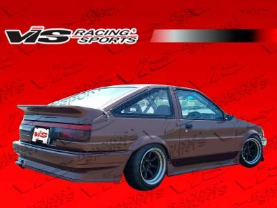 VIS Racing - Toyota Corolla VIS Racing RF Rear Bumper - 84TYCORHBRF-002