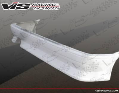 VIS Racing - Toyota Corolla VIS Racing V-Spec Rear Bumper - 84TYCORHBVSC-002
