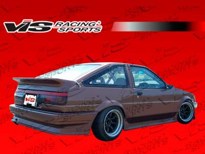 VIS Racing - Toyota Levin VIS Racing RF Rear Bumper - 84TYLEVHBRF-002