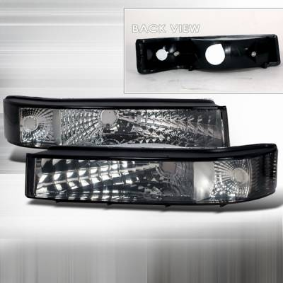Custom Disco - Ford F250 Custom Disco Black Bumper Lights - LB-F15092G-DP