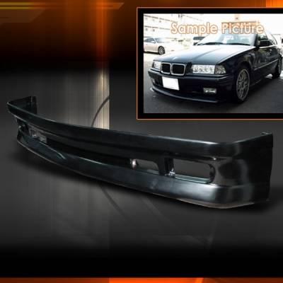 Custom Disco - BMW 3 Series Custom Disco AC Style Front Half Bumper - LBF-E3692AC-ABS