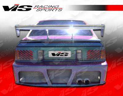 VIS Racing - Nissan Pulsar VIS Racing J Speed Rear Bumper - 87NSPUL2DJSP-002