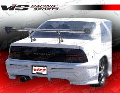 VIS Racing - Chevrolet Beretta VIS Racing Invader-2 Rear Bumper - 88CHBER2DINV2-002