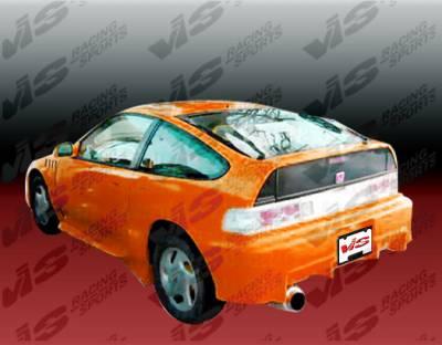 VIS Racing - Honda CRX VIS Racing TSC Rear Bumper - 88HDCRXHBTSC-002