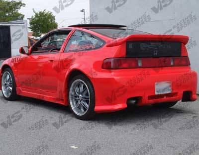 VIS Racing - Honda CRX VIS Racing Z1 boxer Rear Bumper - 88HDCRXHBZ1-002
