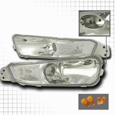 Custom Disco - Ford Mustang Custom Disco Signal Bumper Lights - LB-MST05-KS