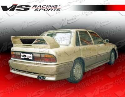 VIS Racing - Mitsubishi Galant VIS Racing Cyber Rear Bumper - 88MTGAL4DCY-002