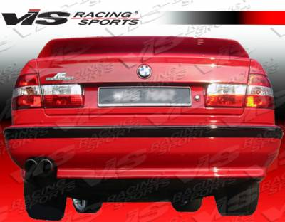 VIS Racing - BMW 5 Series VIS Racing A Tech Rear Lip - 89BME344DATH-012