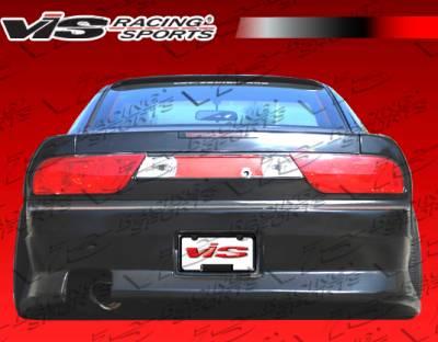 VIS Racing - Nissan 240SX VIS Racing B Speed Rear Bumper - 89NS2402DBSP-002