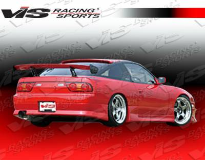 VIS Racing - Nissan 240SX VIS Racing G-Speed Rear Bumper - Polyurethane - 89NS2402DGSP-002P