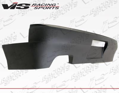 VIS Racing - Nissan 240SX VIS Racing Quad Six Rear Bumper - 89NS2402DQS-002