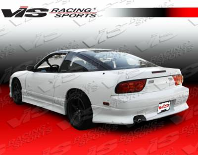 VIS Racing - Nissan 240SX VIS Racing V Speed Rear Bumper - 89NS2402DVSP-002