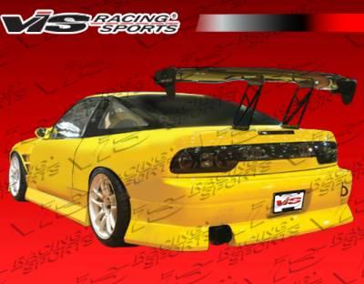 VIS Racing - Nissan 240SX HB VIS Racing B Speed Rear Bumper - 89NS240HBBSP-002