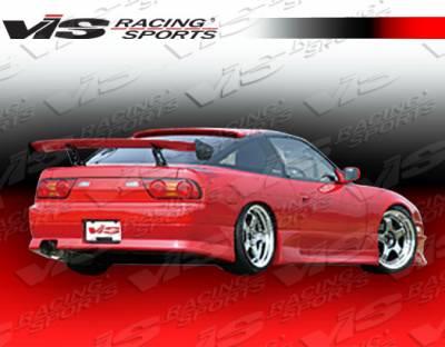 VIS Racing - Nissan 240SX HB VIS Racing G Speed Rear Bumper - 89NS240HBGSP-002