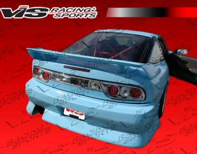 VIS Racing. - Nissan 240SX HB VIS Racing G Speed Widebody Rear Bumper - 89NS240HBGSPWB-002