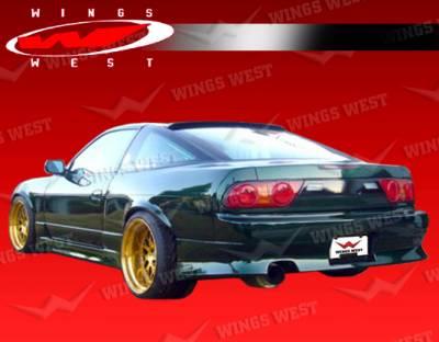 VIS Racing - Nissan 240SX VIS Racing JPC Type 1 Rear Bumper - 89NS240HBJPC1-002