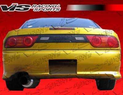 VIS Racing - Nissan 240SX HB VIS Racing Z Speed Rear Bumper - 89NS240HBZSP-002