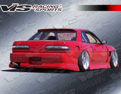 VIS Racing - Nissan S13 VIS Racing B Speed Rear Bumper - 89NSS132DBSP-002