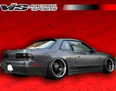VIS Racing - Nissan S13 VIS Racing Flex Rear Bumper - 89NSS132DFLX-002