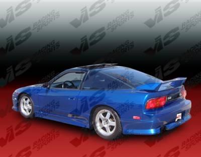 VIS Racing - Nissan S13 VIS Racing M Speed Rear Bumper - 89NSS132DMSP-002