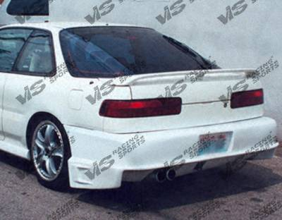 VIS Racing - Acura Integra 2DR VIS Racing Battle Z Rear Bumper - 90ACINT2DBZ-002