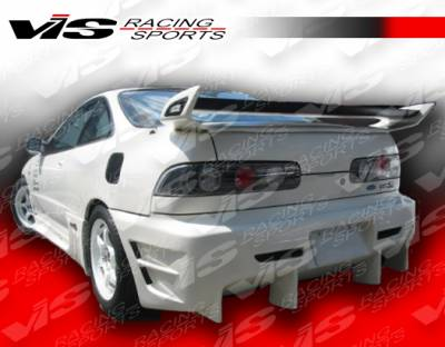 VIS Racing - Acura Integra VIS Racing EVO-4 Rear Bumper - 90ACINT2DEVO4-002