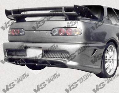 VIS Racing. - Acura Integra 2DR VIS Racing Kombat Rear Bumper - 90ACINT2DKOM-002