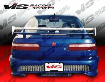 VIS Racing - Acura Integra 2DR VIS Racing Kombat-2 Rear Bumper - 90ACINT2DKOM2-002
