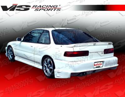 VIS Racing. - Acura Integra 2DR VIS Racing Striker Rear Bumper - 90ACINT2DSTR-002
