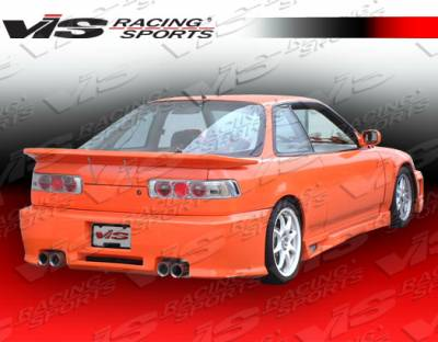VIS Racing - Acura Integra 2DR VIS Racing Z1 boxer Rear Bumper - 90ACINT2DZ1-002