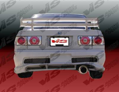 VIS Racing - Honda Accord 2DR & 4DR VIS Racing Kombat Rear Bumper - 90HDACC2DKOM-002
