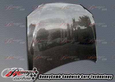AIT Racing - Lexus IS AIT Racing OEM Style Carbon Fiber Hood - LIS00BMCFH