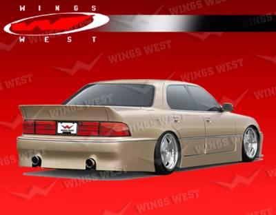VIS Racing - Lexus LS400 VIS Racing JPC Rear Bumper - 90LXLS44DJPC-002