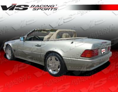 VIS Racing - Mercedes-Benz SL VIS Racing Euro Tech Rear Bumper - 90MER1292DET-002