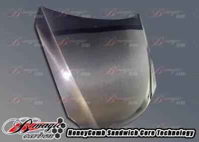 AIT Racing - Lexus IS AIT Racing OEM Style Hood - LIS06BMCFH