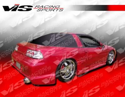VIS Racing - Mitsubishi Eclipse VIS Racing Striker Rear Bumper - 90MTECL2DSTR-002