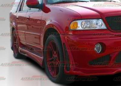 AIT Racing - Lincoln Navigator AIT Racing EXE Style Side Skirts - LN98HIEXESS