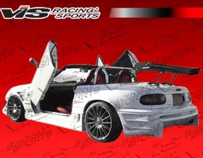 VIS Racing - Mazda Miata VIS Racing Wave Rear Bumper - 90MZMX52DWAV-002