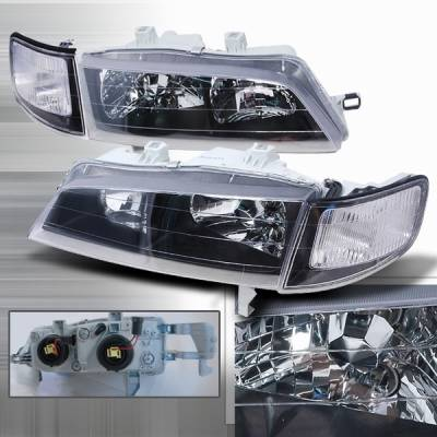 Custom Disco - Honda Accord Custom Disco Clear JDM Headlights - LCLH-ACD94JM-DP