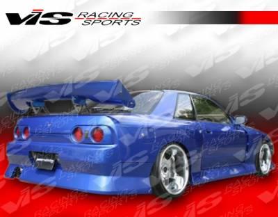 VIS Racing - Nissan Skyline VIS Racing B Speed Rear Bumper - 90NSR32GTRBSP-002